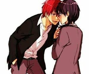 anime, couple, and karma image