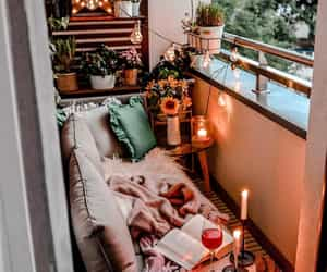balcony, cozy, and home image