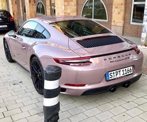 luxury, pink, and porsche image