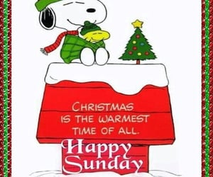 christmas, snoopy, and Sunday image
