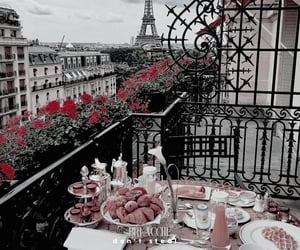 paris, breakfast, and food image