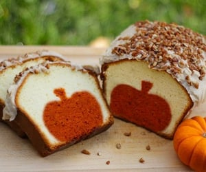 pumpkin, cake, and food image
