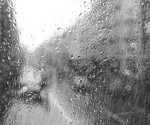 gif, rain, and 🌟 image