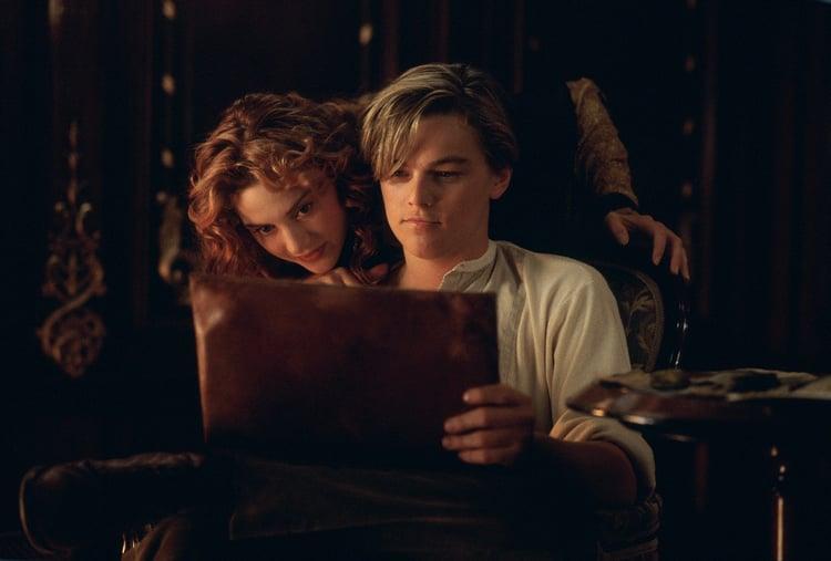 film, titanic, and italia image