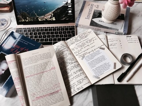 article, articles, and notebook image