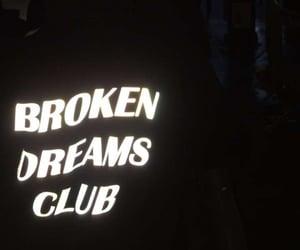 black, fashion, and broken dreams club image