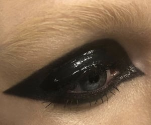 eye makeup, smokey eyes, and liquid eyeshadow image