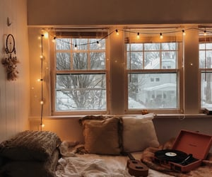 cozy, home, and snow image