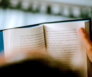 book, hands, and lovely image