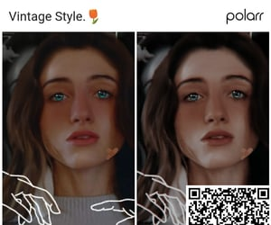 filter, qrcode, and polarr image
