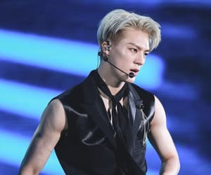 blonde, kpop, and nct image