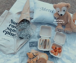 aesthetic, food, and theme image