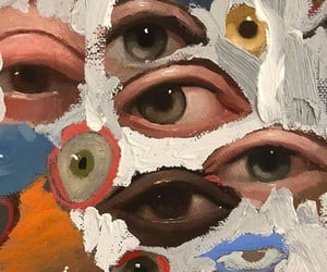 eyes, aesthetic, and art image