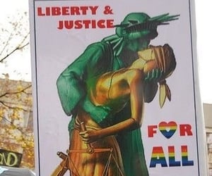 bisexual, pride, and protest image