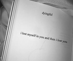lost, myself, and you image