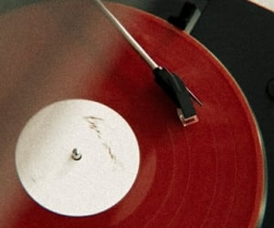 red, music, and aesthetic image