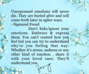 emotions, i write, and unexpressed image