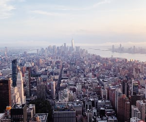 beauty, city, and empire state building image
