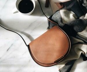 bag, brown, and coffee image