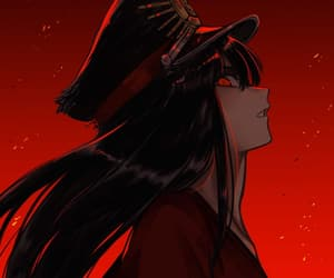 anime, badass, and black hair image