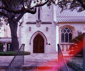 church, trip, and laurels image