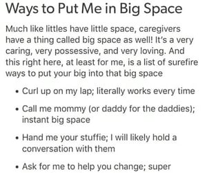 bondage, little space, and daddy kink image