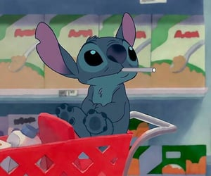 disney, stitch, and cartoon image