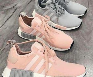 adidas, grey, and pink image