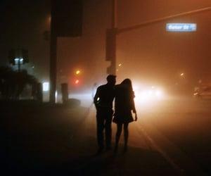 couple, night, and grunge image