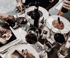 drink, food, and wine image