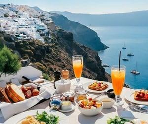 sea, architecture, and Greece image