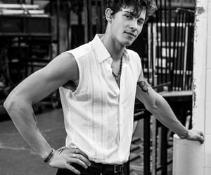 shawn mendes and black and white image