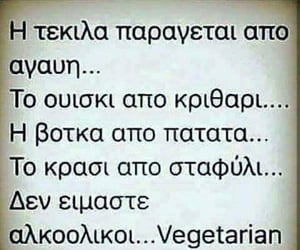 alcohol, funny, and vegetarian image