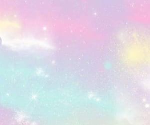 wallpaper, pastel, and galaxy image