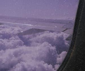 airplane, beautiful, and photo image
