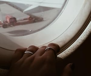 airplane, airport, and beautiful image