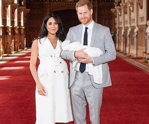 couple, meghan markle, and love image