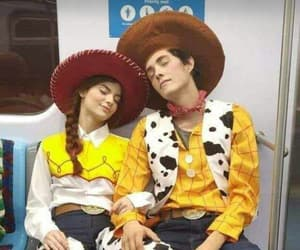 couple, Halloween, and toy story image