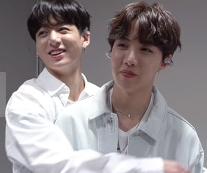 hug, jk, and bts image