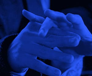 blue, hands, and miss you image