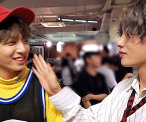 gif, vkook, and bts image