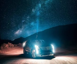 car, Noche, and carretera image