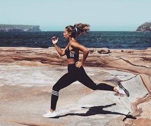fitness, running, and run image