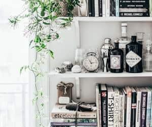 book, interior, and bookshelf image