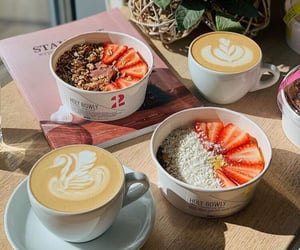 beautiful, breakfast, and cafe image