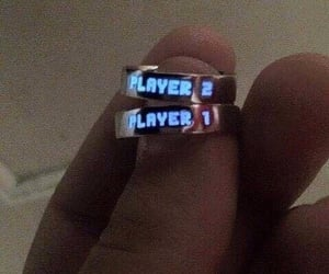 cool, rings, and couple image