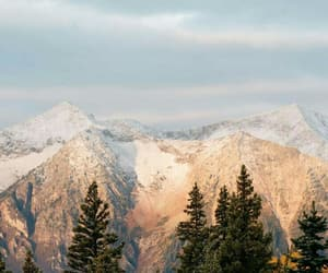 wallpaper, nature, and mountains image
