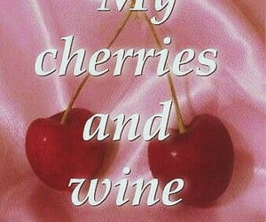 cherry, pink, and wine image