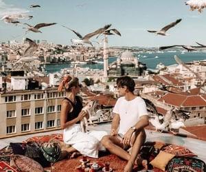 couple, romance, and travel image