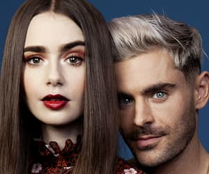 zac efron and lily collins image